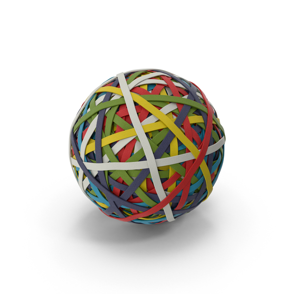 Rubber Band Ball Object