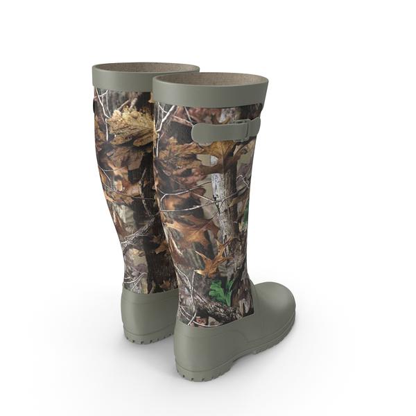 Rain: Rubber Boots PNG & PSD Images
