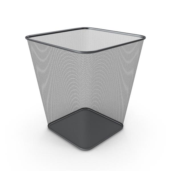 Wastepaper Basket: Rubbish Bin PNG & PSD Images