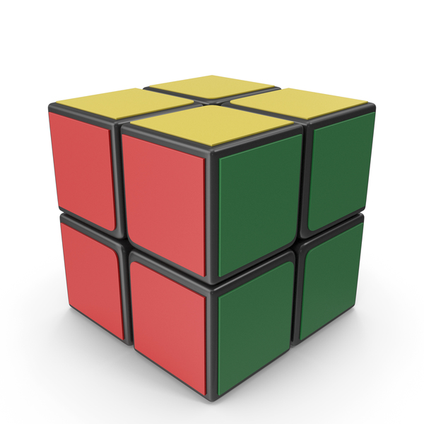 Rubik's Cube 2x2x2 PNG & PSD Images