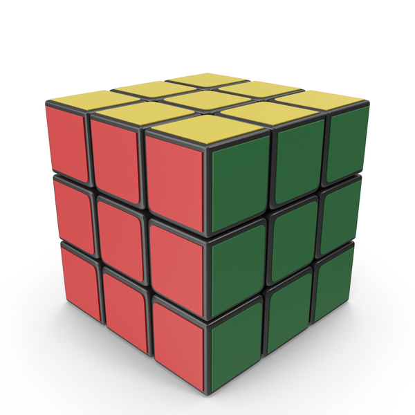 Rubik's Cube 3x3x3 PNG & PSD Images