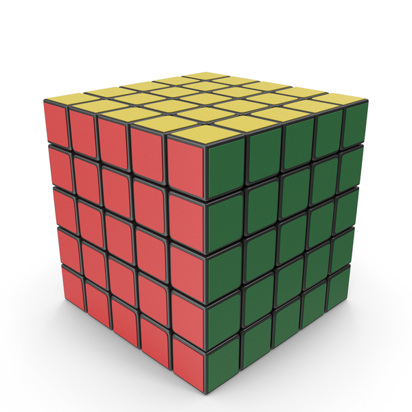 Rubik's Cube 5x5x5 PNG & PSD Images
