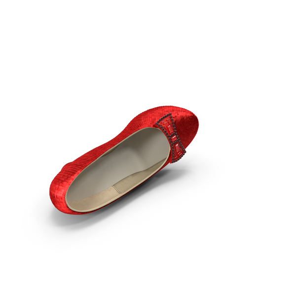 Women's Shoes: Ruby Slipper PNG & PSD Images