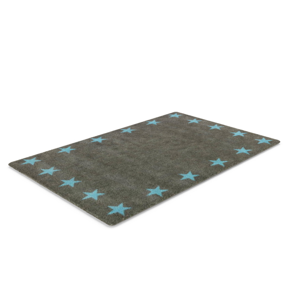 Rug Grey with Stars PNG & PSD Images