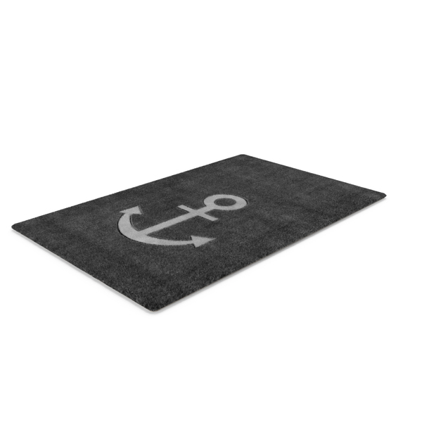 Rug with Anchor PNG & PSD Images
