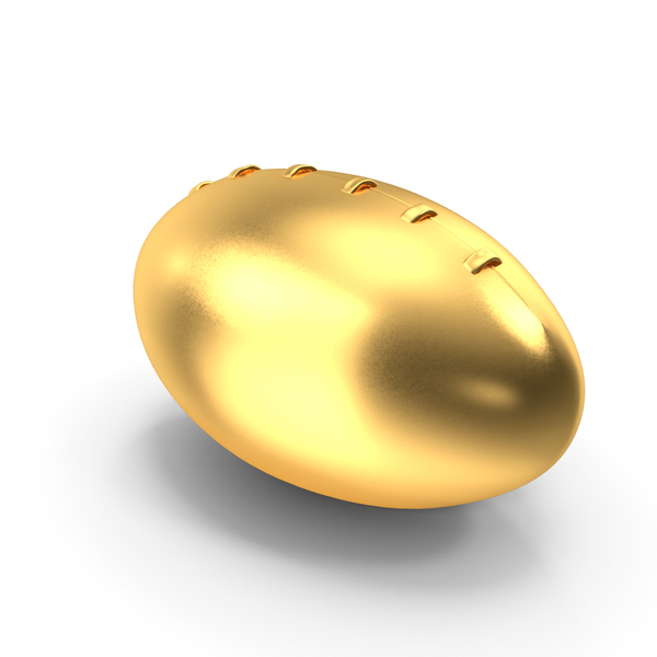 Rugby Ball Gold PNG & PSD Images
