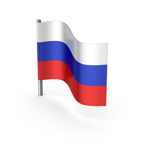 Russia Cartoon Flag PNG & PSD Images