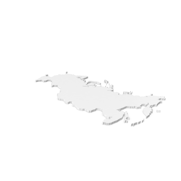 Russia Contour With Crimea PNG & PSD Images