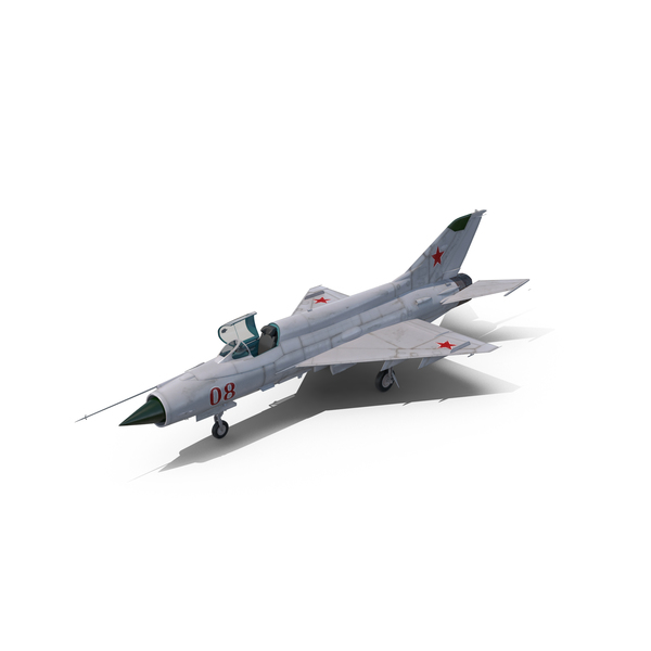 Russian Fighter MiG-21 Fishbed Object