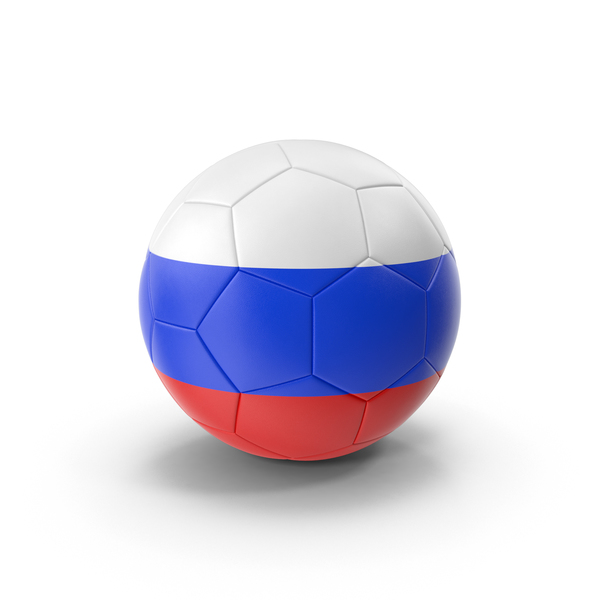 Russian Flag Soccer Ball PNG & PSD Images