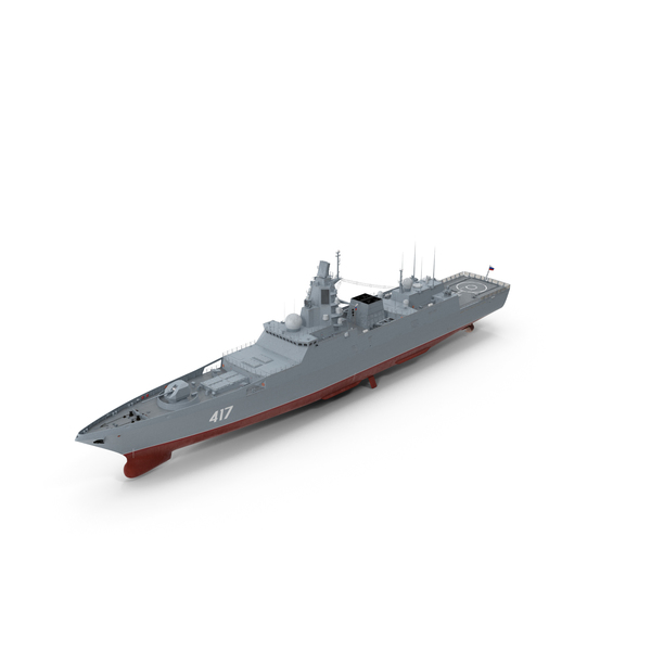 Russian Frigate Admiral Gorshkov PNG & PSD Images