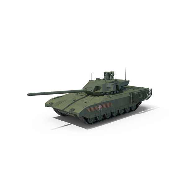 Russian Main Battle Tank T-14 Armata PNG & PSD Images