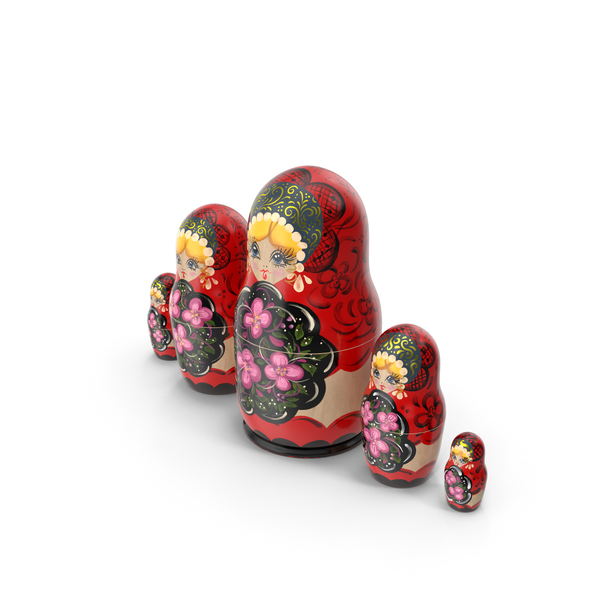 Russian Matryoshka Doll PNG & PSD Images