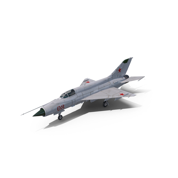 Fighter Jet: Russian MiG-21 Fishbed Object