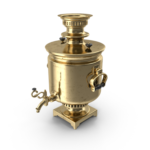 Russian Samovar Object