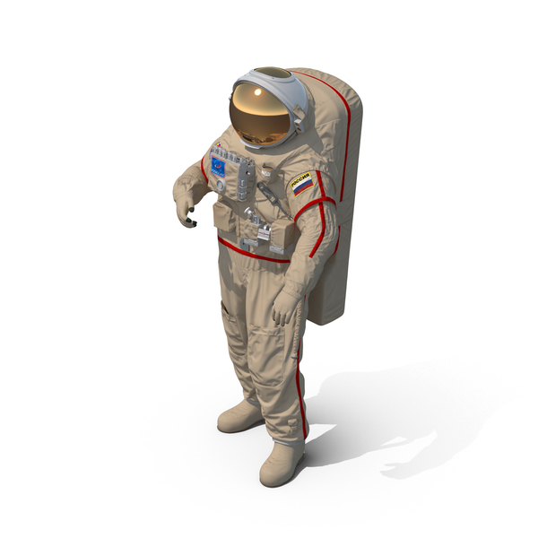 Russian Space Suit Orlan MK PNG & PSD Images