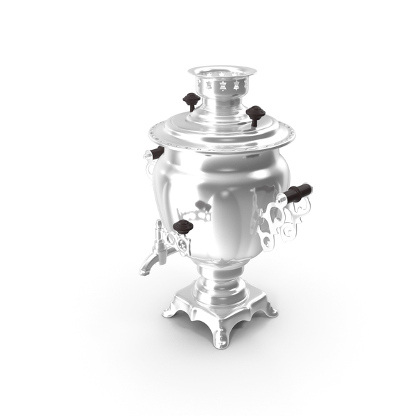 Russian Vintage Electric Samovar PNG & PSD Images