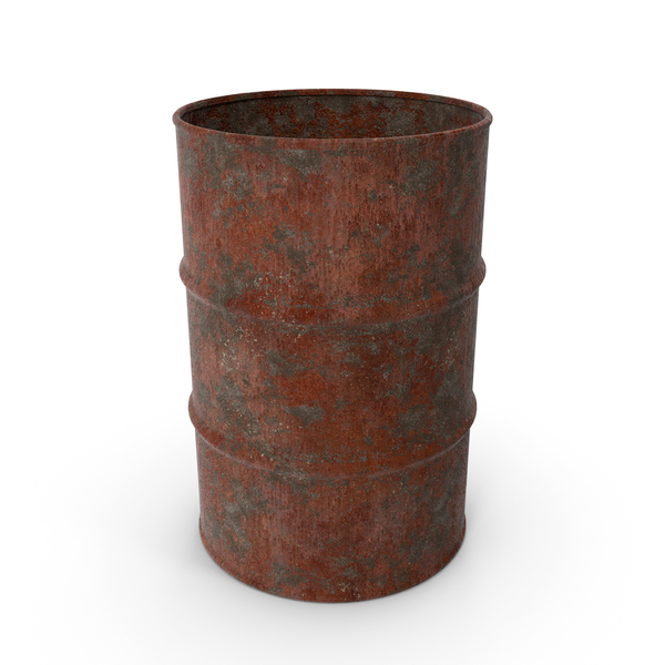 Barrel: Rusted Drum PNG & PSD Images
