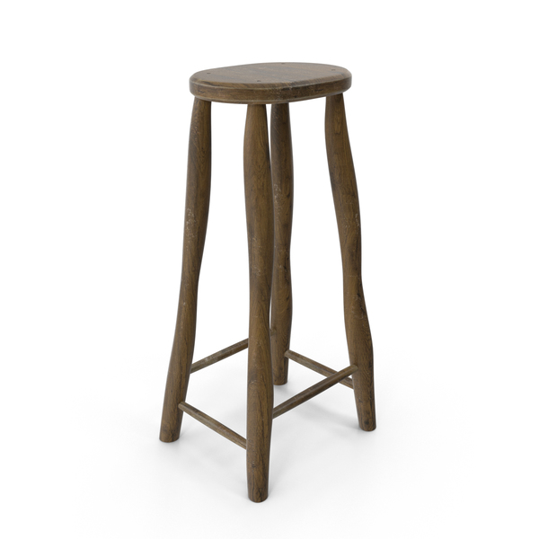 Rustic Stool PNG & PSD Images