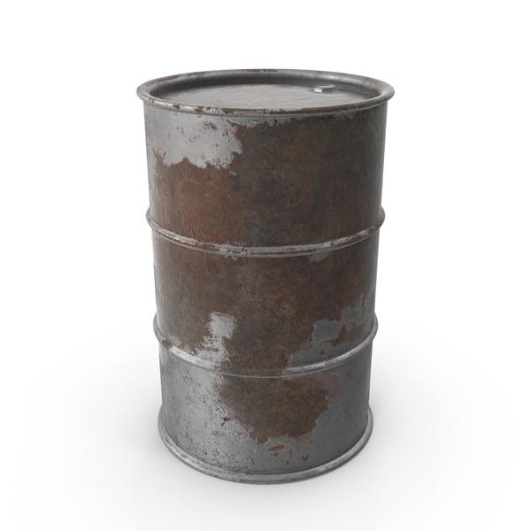 Rusty Barrel PNG & PSD Images