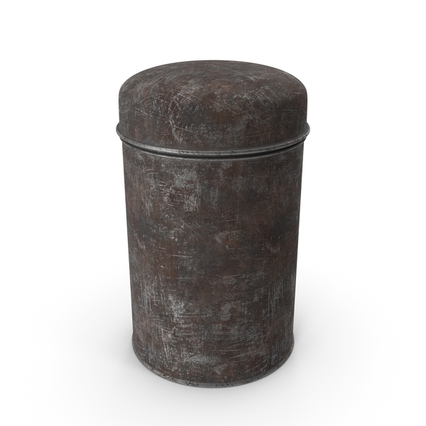 Tin: Rusty Can PNG & PSD Images