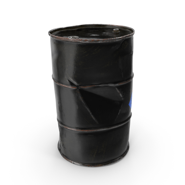 Rusty Chemical Barrel NFPA 704 PNG & PSD Images