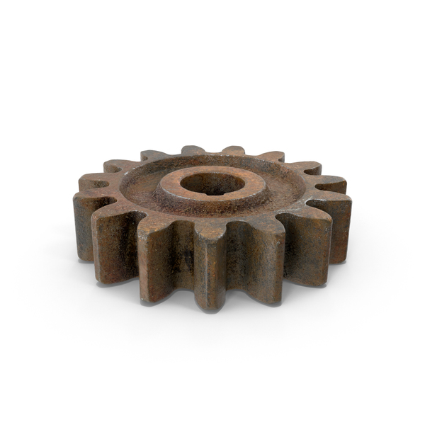Rusty Gear PNG & PSD Images