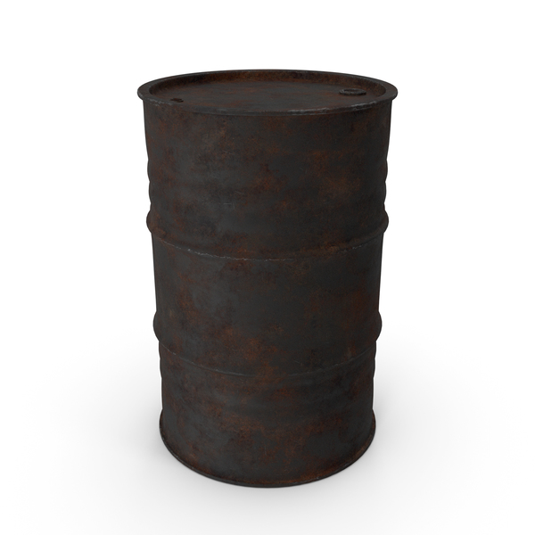 Drum: Rusty Oil Barrel PNG & PSD Images