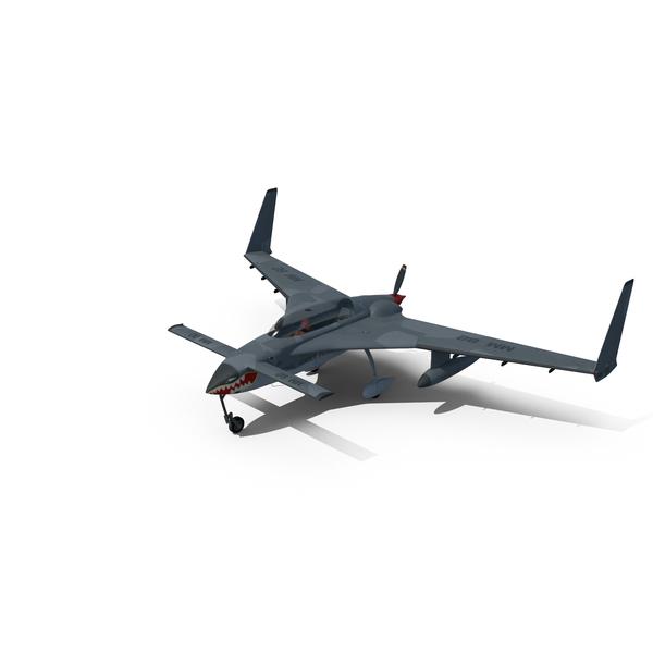 Propeller Plane: Rutan Long-EZ PNG & PSD Images