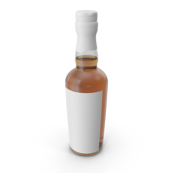 Rye Bottle Mockup Object
