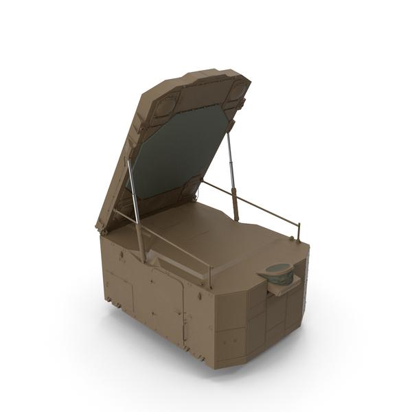 S300 Desert Radar Flap Lid B PNG & PSD Images