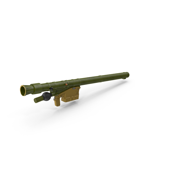 Missile: SA 18 Grouse Launcher PNG & PSD Images