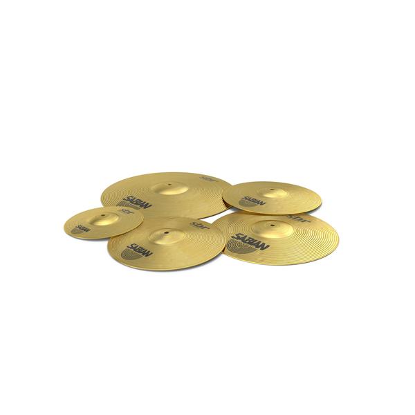 Sabian Sbr Brass Cymbal Set PNG & PSD Images