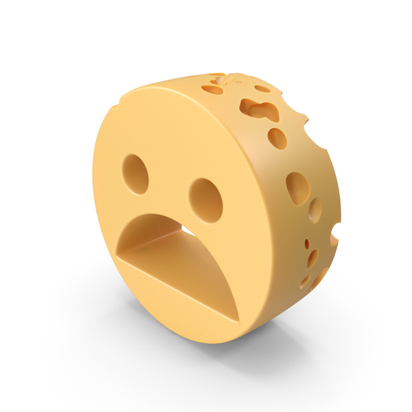 Sad Emoji Cheese PNG & PSD Images