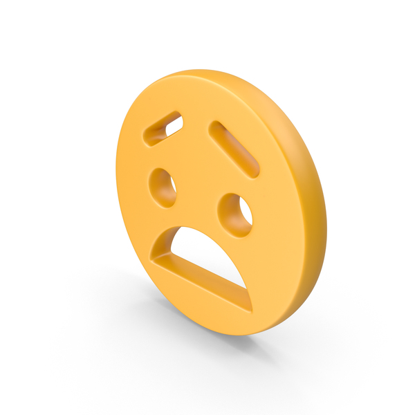 Smiley Face: Sad Emoji PNG & PSD Images