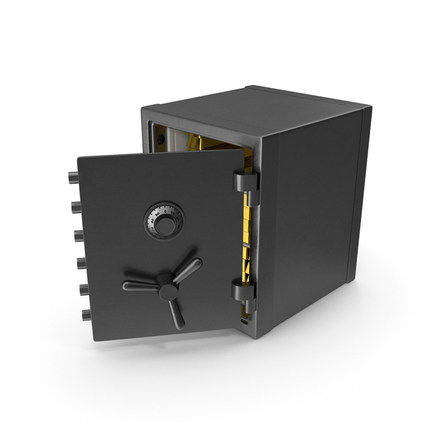 Safe with Gold PNG & PSD Images