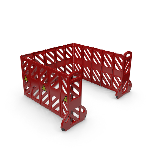 Traffic: Safety Barrier Red PNG & PSD Images