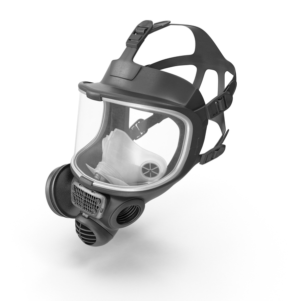 Safety Gas Mask Object