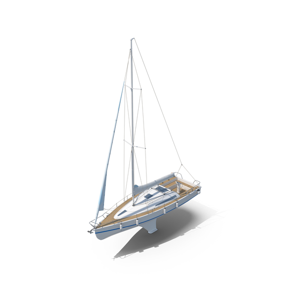 Sailboat Princess II PNG & PSD Images