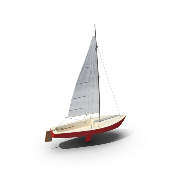 Sailboat Red PNG & PSD Images