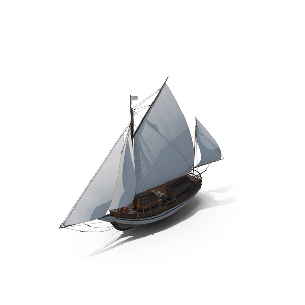 "Sailing Vessel ""Spray"" PNG & PSD Images"