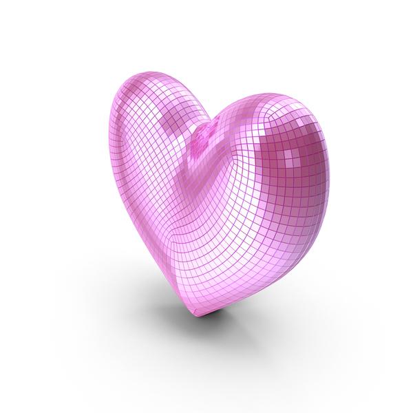 Shape: Saint Valentine Symbol Mirror Heart PNG & PSD Images