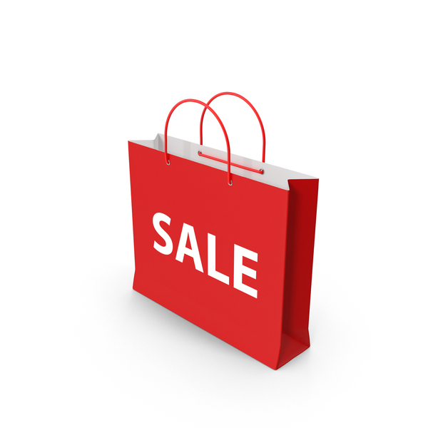 Sale Shopping Bag PNG & PSD Images
