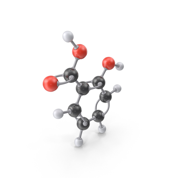 Salicylic Acid Molecule PNG & PSD Images