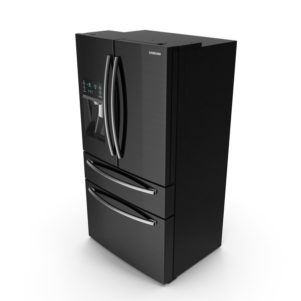 Samsung 4 Door Refrigerator with FlexZone Drawer PNG & PSD Images