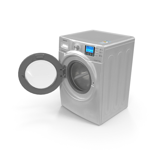 Washing Machine: Samsung Ecobubble PNG & PSD Images