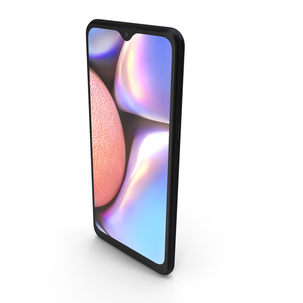 Smartphone: Samsung Galaxy A10s Black PNG & PSD Images