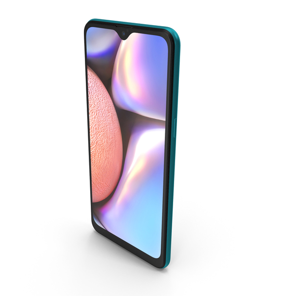 Samsung Galaxy A10s Green PNG & PSD Images