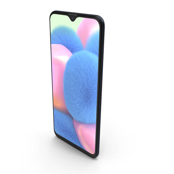 Samsung Galaxy A30s Prism Crush Black PNG & PSD Images