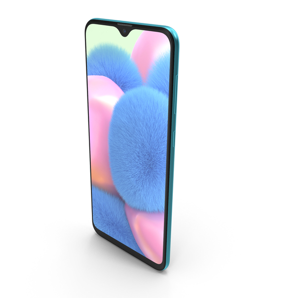 Samsung Galaxy A30s Prism Crush Green PNG & PSD Images
